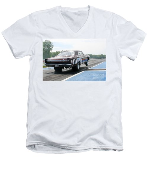 8693 06-15-2015 Esta Safety Park Men's V-Neck T-Shirt