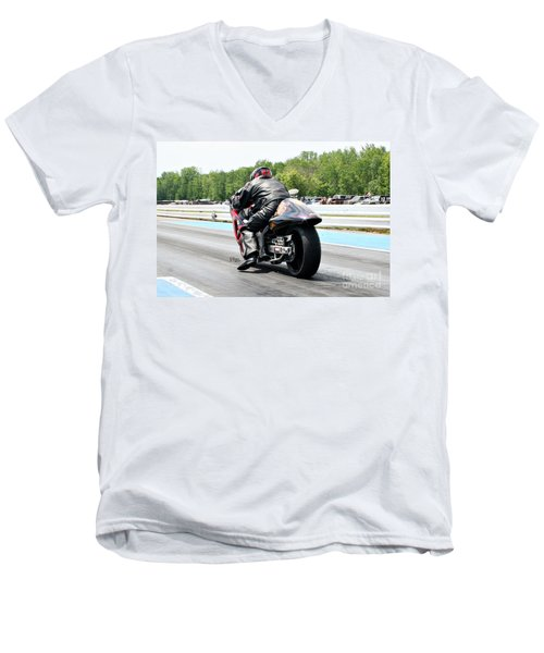 8779 06-15-2015 Esta Safety Park Men's V-Neck T-Shirt