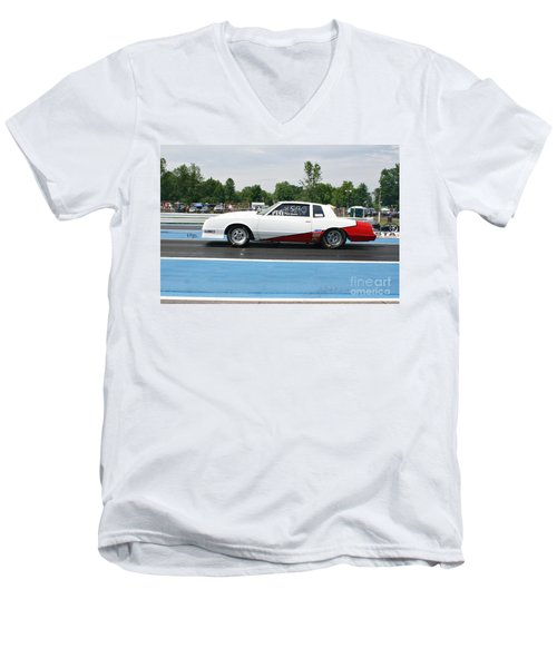 8804 06-15-2015 Esta Safety Park Men's V-Neck T-Shirt