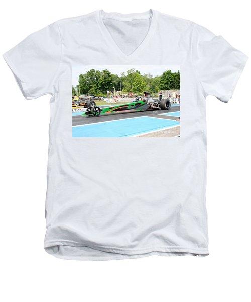 8827 06-15-2015 Esta Safety Park Men's V-Neck T-Shirt