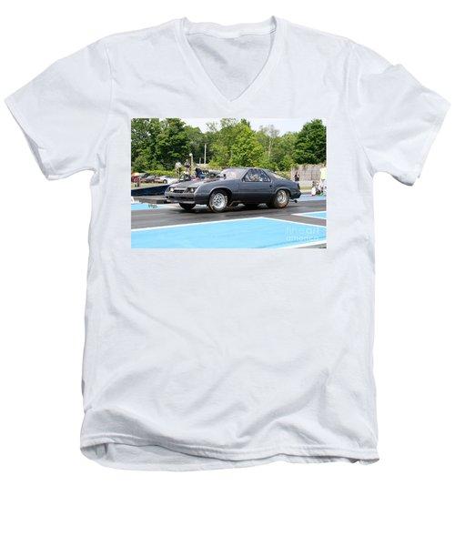 8830 06-15-2015 Esta Safety Park Men's V-Neck T-Shirt