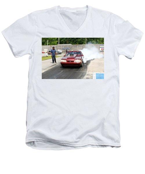 8912 06-15-2015 Esta Safety Park Men's V-Neck T-Shirt