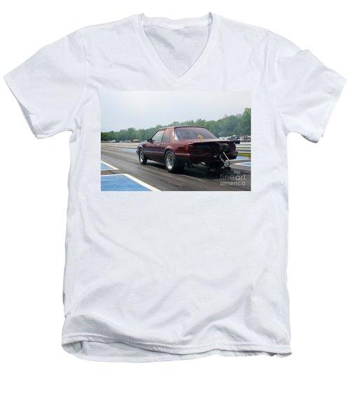 8914 06-15-2015 Esta Safety Park Men's V-Neck T-Shirt