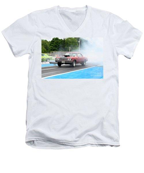 8931 06-15-2015 Esta Safety Park Men's V-Neck T-Shirt