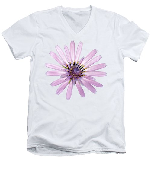 Salsify Flower Men's V-Neck T-Shirt