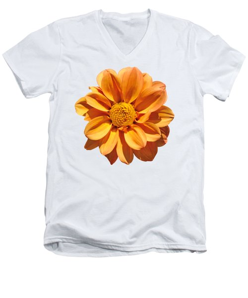 Spring Flower Men's V-Neck T-Shirt