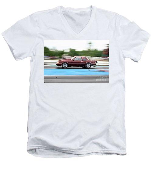 9002 06-15-2015 Esta Safety Park Men's V-Neck T-Shirt