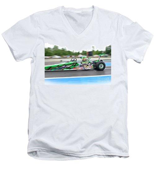 9073 06-15-2015 Esta Safety Park Men's V-Neck T-Shirt
