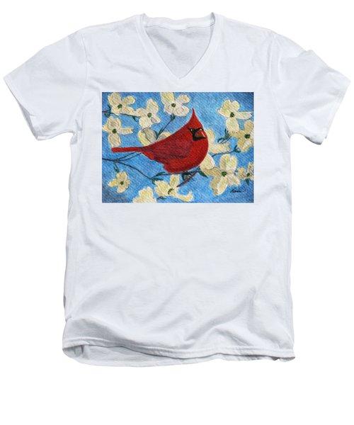 A Cardinal Spring Men's V-Neck T-Shirt