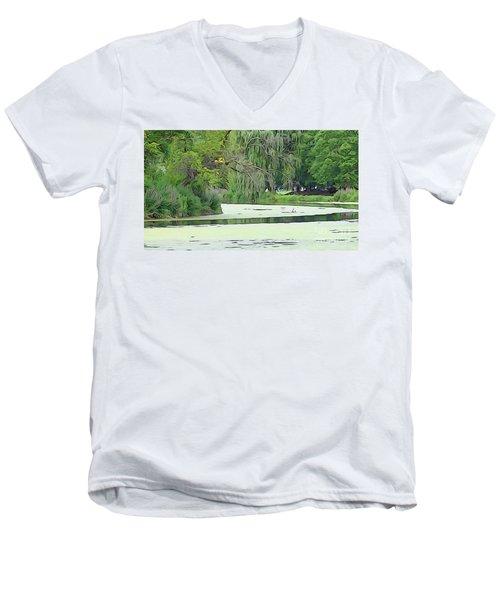 A Clearer Path Men's V-Neck T-Shirt