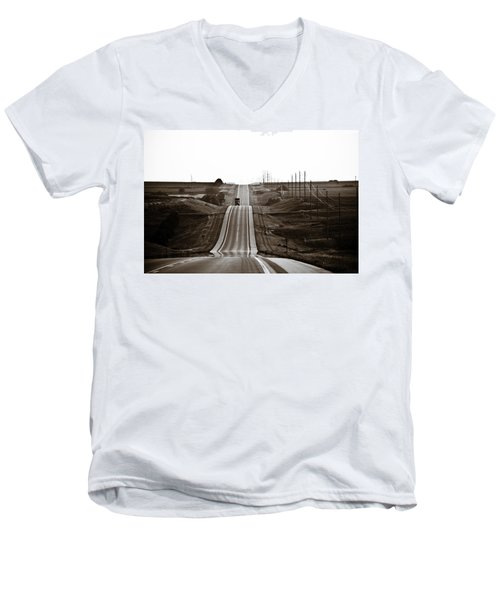 A Country Mile 1 Men's V-Neck T-Shirt