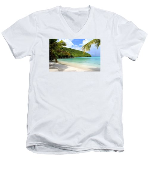 A Day With My Best Friend Men's V-Neck T-Shirt by Fiona Kennard
