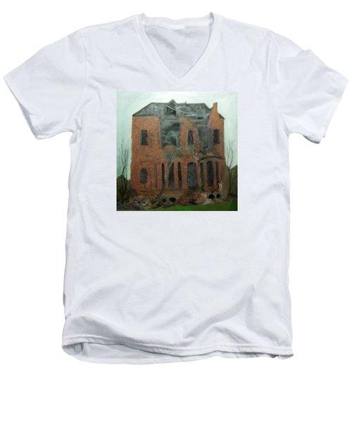 A Derelict House Men's V-Neck T-Shirt