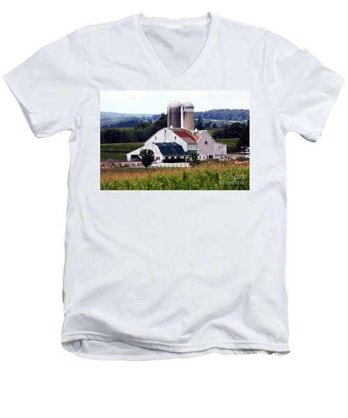A Farmer's Paradise Men's V-Neck T-Shirt
