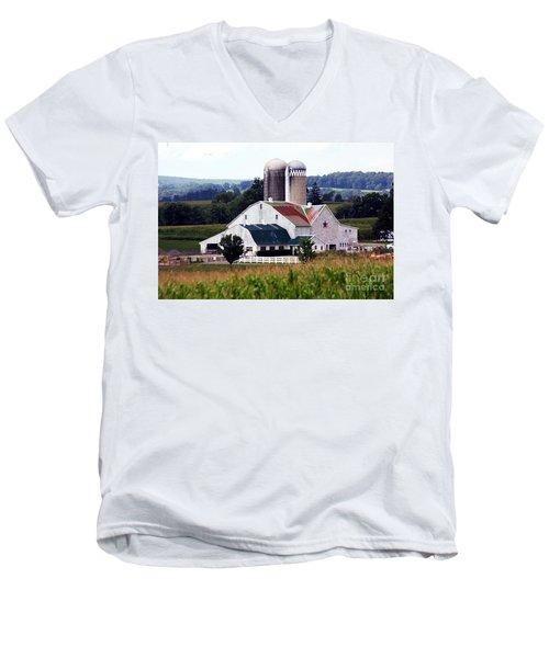 A Farmer's Paradise Men's V-Neck T-Shirt
