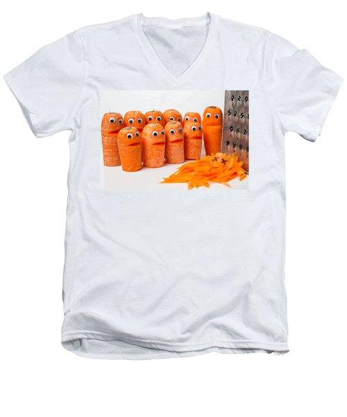 A Grate Carrot 1. Men's V-Neck T-Shirt
