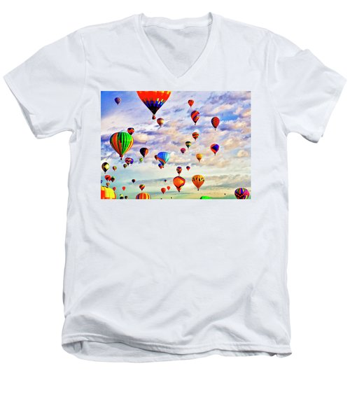 A Great Day To Fly Men's V-Neck T-Shirt