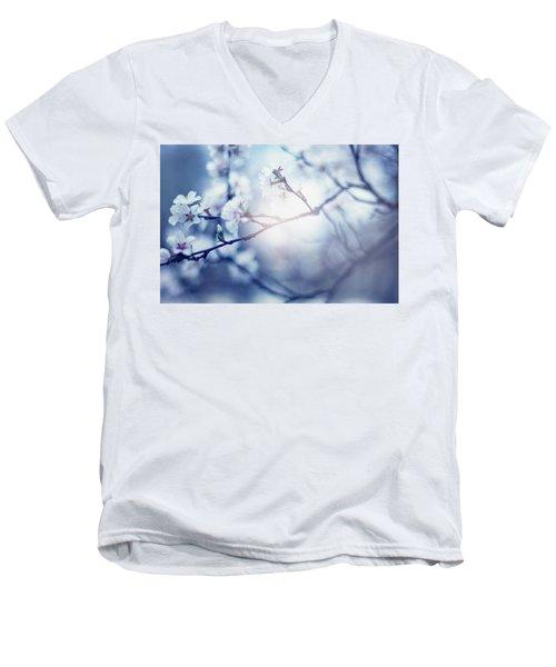 A Light Exists In Spring Men's V-Neck T-Shirt