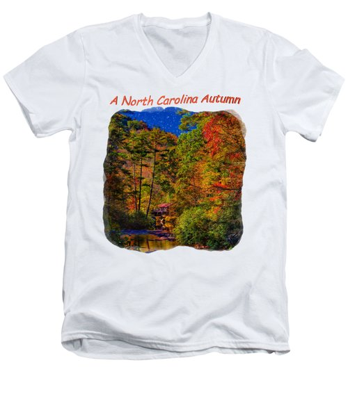 A Little Bit Of Heaven 3 Men's V-Neck T-Shirt