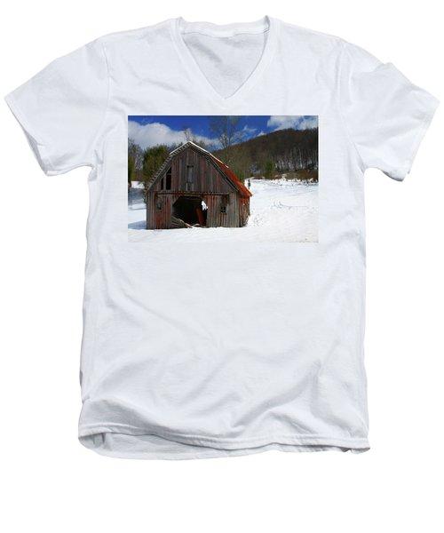 A Little Rust Men's V-Neck T-Shirt