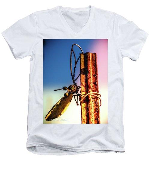 A Little Rusty Men's V-Neck T-Shirt