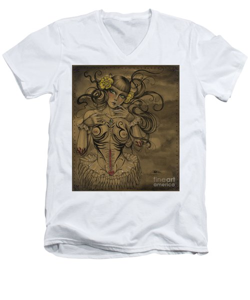 A Little Tribal Men's V-Neck T-Shirt