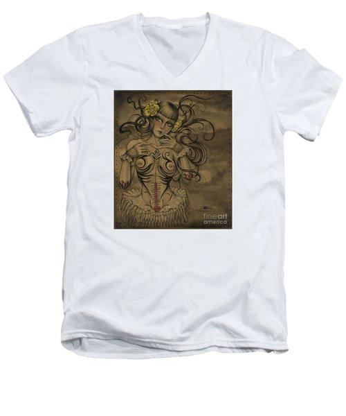 A Little Tribal Men's V-Neck T-Shirt