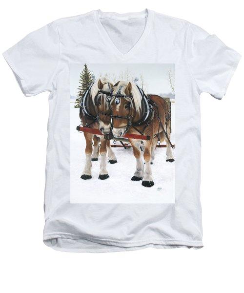 A Loving Union Men's V-Neck T-Shirt