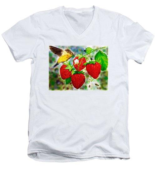 A Midsummer Daydream Men's V-Neck T-Shirt by Asha Aravind