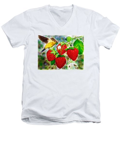 A Midsummer Daydream Men's V-Neck T-Shirt