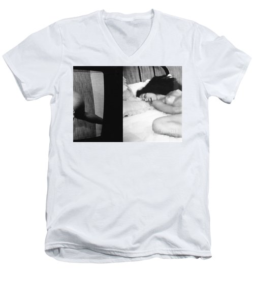 A Mystery Men's V-Neck T-Shirt
