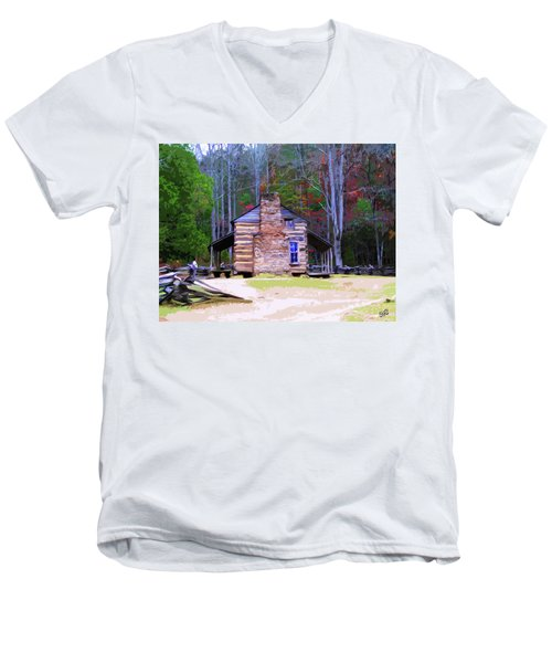A Place In The Woods Men's V-Neck T-Shirt