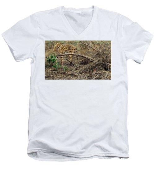A Quiet Approach Men's V-Neck T-Shirt