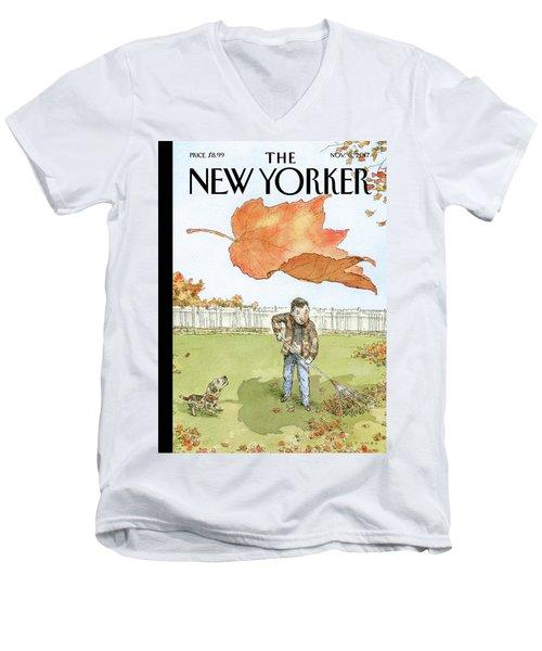 A Rakes Progress Men's V-Neck T-Shirt