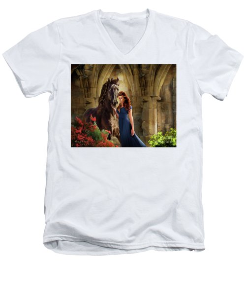 A Spanish Night Men's V-Neck T-Shirt