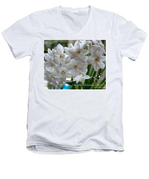 A Spring Wedding Men's V-Neck T-Shirt