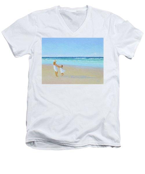 A Summer Dance Men's V-Neck T-Shirt
