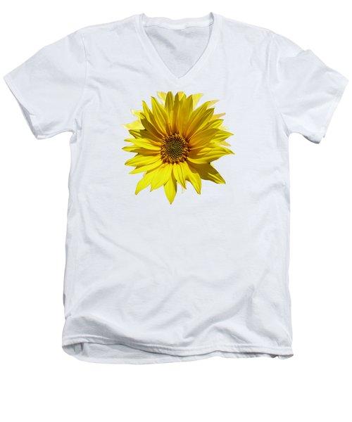 A Vase Of Sunflowers Men's V-Neck T-Shirt