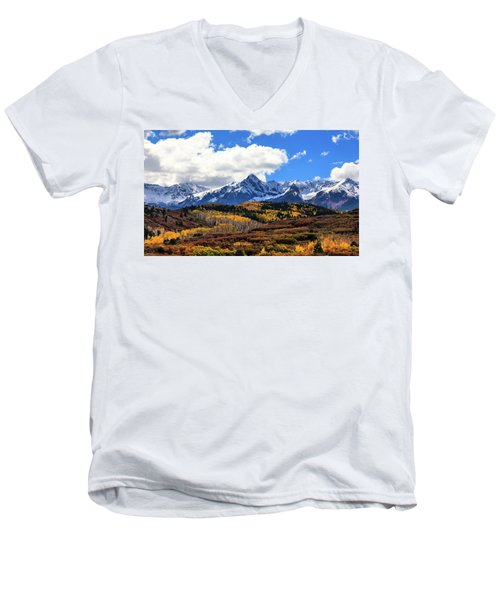 A Vision Splendor Men's V-Neck T-Shirt by Rick Furmanek