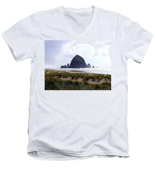 A Walk In The Mist Men's V-Neck T-Shirt