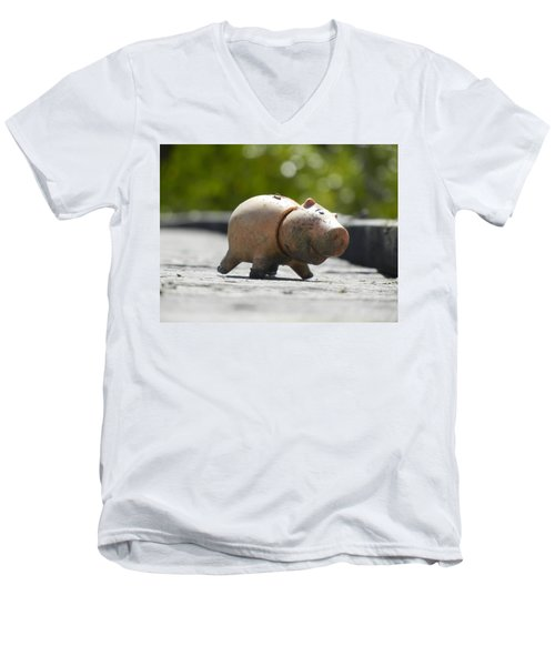 Abandoned On The Boardwalk Men's V-Neck T-Shirt