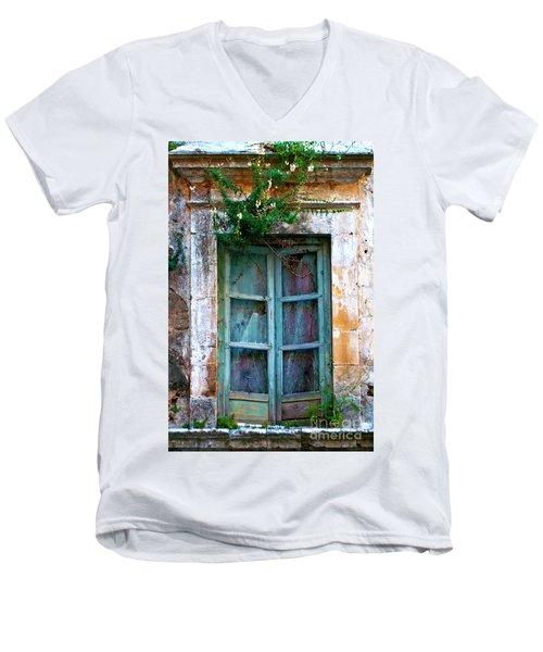 Abandoned Sicilian Sound Of Noto Men's V-Neck T-Shirt
