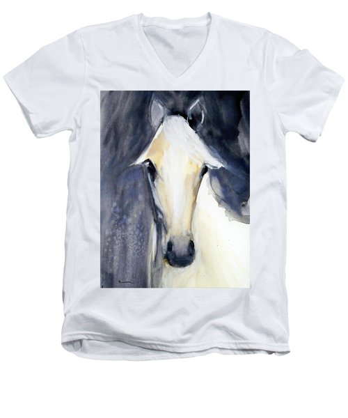 Abby Men's V-Neck T-Shirt