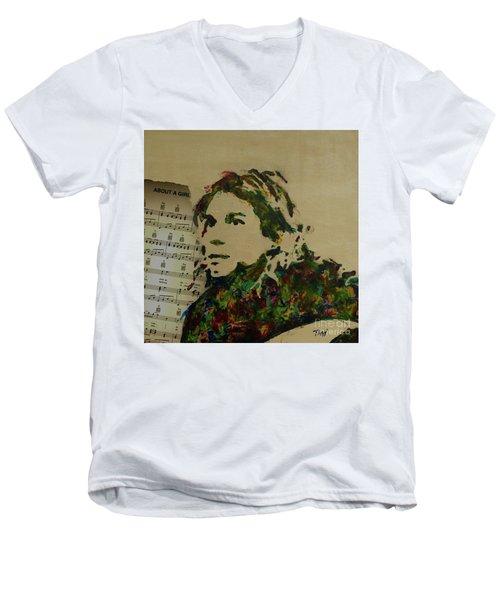 About A Girl Men's V-Neck T-Shirt