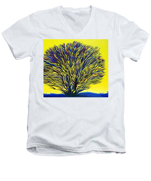 About To Sprout Men's V-Neck T-Shirt