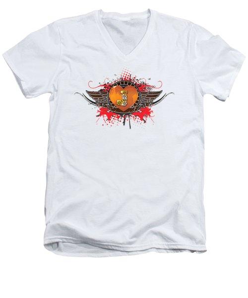 Above All Men's V-Neck T-Shirt