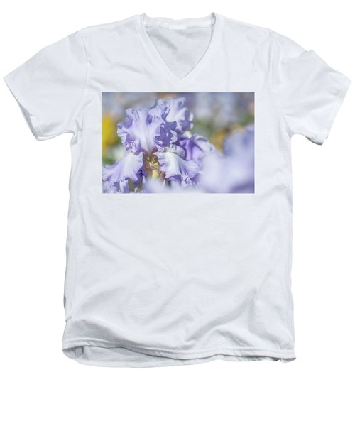 Absolute Treasure 1. The Beauty Of Irises Men's V-Neck T-Shirt