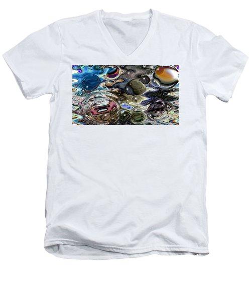 Abstract 623164 Men's V-Neck T-Shirt