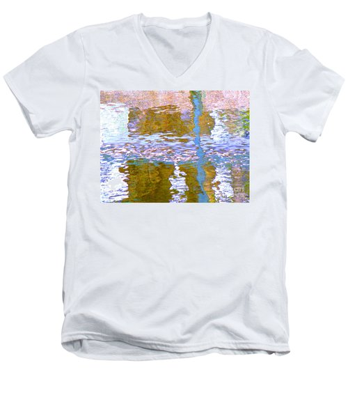 Abstract Directions Men's V-Neck T-Shirt