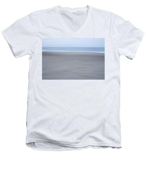 Abstract Seascape No. 10 Men's V-Neck T-Shirt